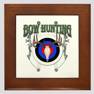 Bow Hunting Framed Tile