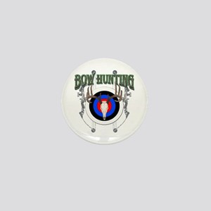 Bow Hunting Mini Button