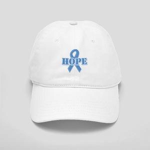 Lt Blue Hope Ribbon Cap