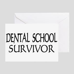 Dental School Graduation Greeting Card