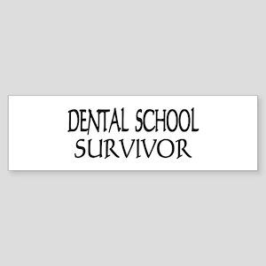 Dental School Graduation Bumper Sticker
