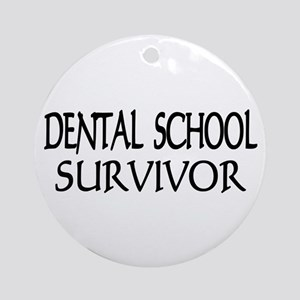 Dental School Graduation Ornament (Round)