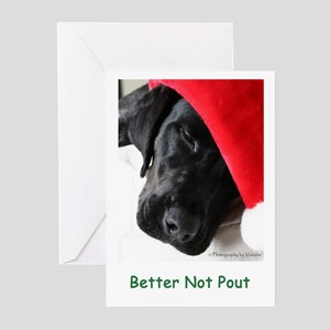 Better Not Pout Greeting Cards (Pk of 20)