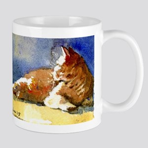Sunlit Cat Mug