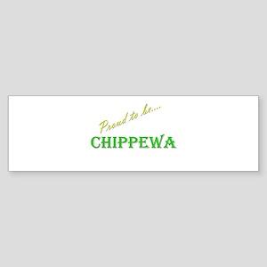 Chippewa Bumper Sticker (10 pk)