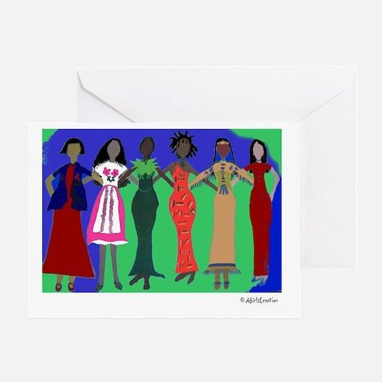 Women in Peace 1 Greeting Card
