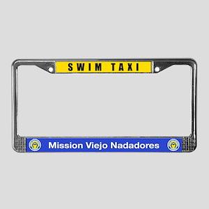 Swim Taxi License Plate
