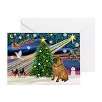 XMagic-Shar Pei Greeting Card