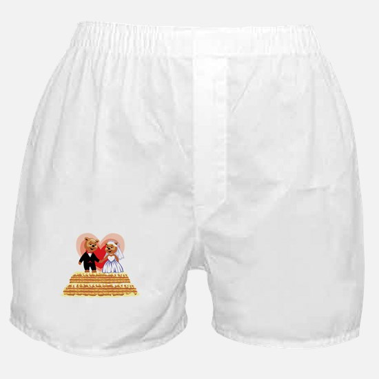 Wedding Teddy's T-shirts and Gifts Boxer Shorts