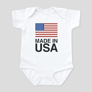 Made in USA MVN Logo Infant Bodysuit