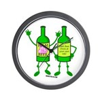 Ham Beer Wall Clock