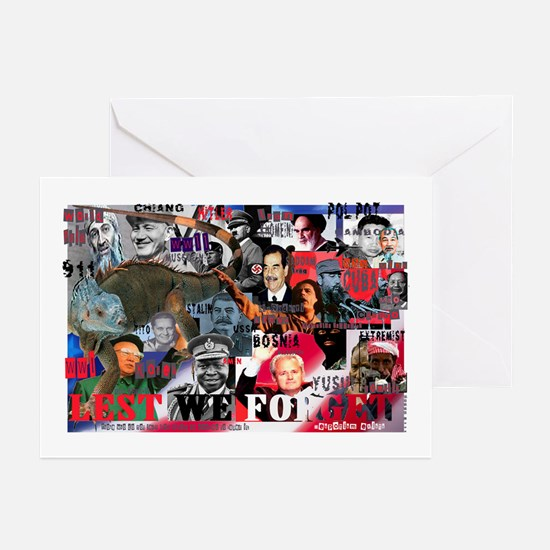LEST WE FORGET Greeting Cards (Pk of 10)