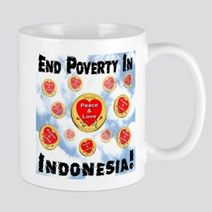 End Poverty In Indonesia! Mug