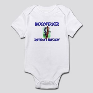 Woodpecker Trapped In A Man's Body Infant Bodysuit