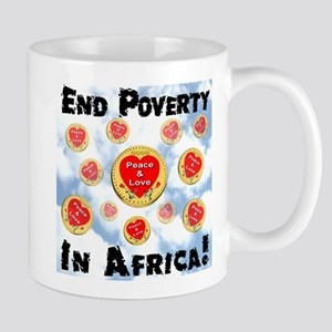 End Poverty In Africa! Mug