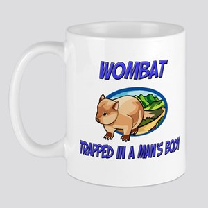 Wombat Trapped In A Man's Body Mug