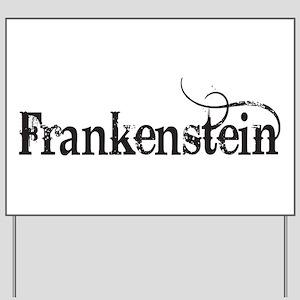 Frankenstein Yard Sign
