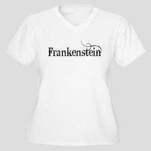 Frankenstein Women's Plus Size V-Neck T-Shirt