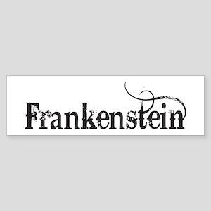 Frankenstein Bumper Sticker
