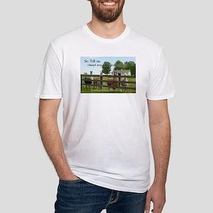 SELR Llama Fitted T-Shirt