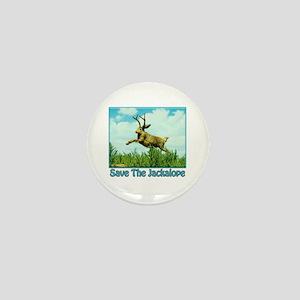 Save The Jackalope Mini Button