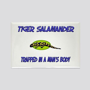 Tiger Salamander Trapped In A Man's Body Rectangle