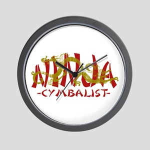 Dragon Ninja Cymbalist Wall Clock