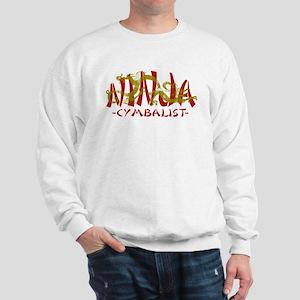 Dragon Ninja Cymbalist Sweatshirt