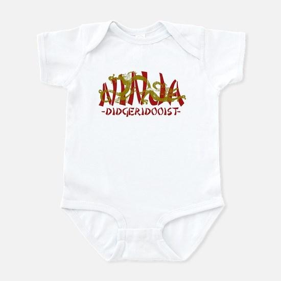 Dragon Ninja Didgeridooist Infant Bodysuit