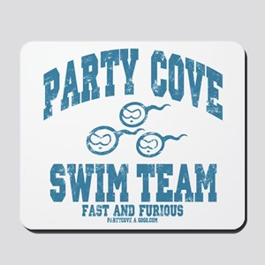 Party Cove Swim Team Mousepad