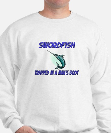 Swordfish Trapped In A Man's Body Jumper