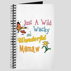Wild Wacky Memaw Journal