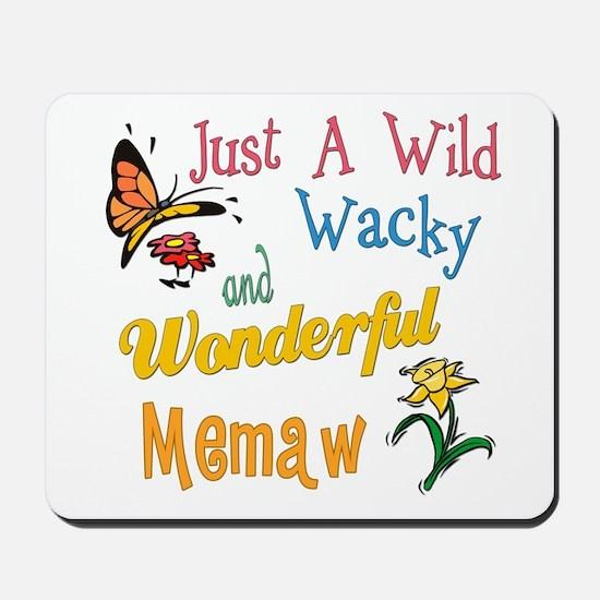 Wild Wacky Memaw Mousepad