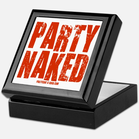 Party Naked! Keepsake Box