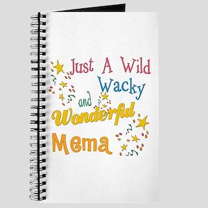 Wild Wacky Mema Journal