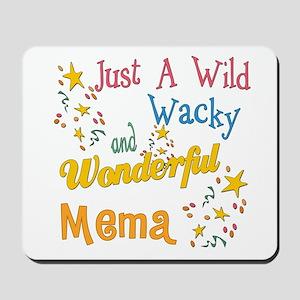 Wild Wacky Mema Mousepad
