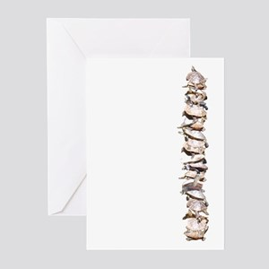 10 Turtles All The Way Down Greeting Cards