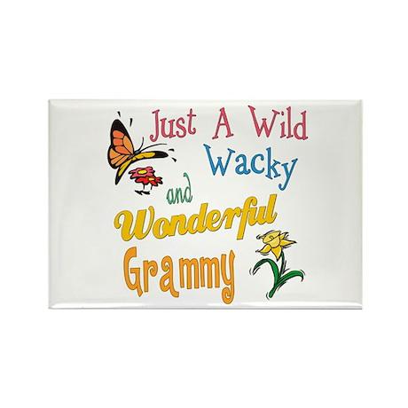 Wild Wacky Grammy Rectangle Magnet (10 pack)