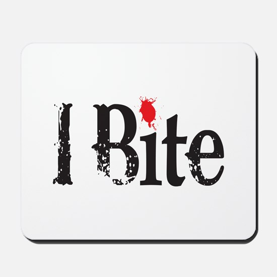 I BIte Mousepad