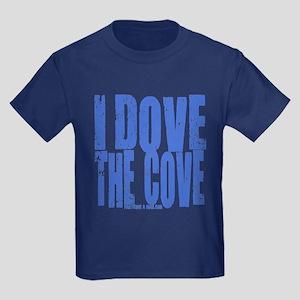 I Dove The Cove! Kids Dark T-Shirt