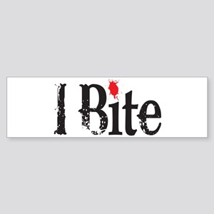 I BIte Bumper Sticker