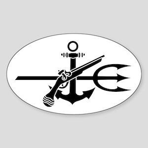 UDT-(1) Oval Sticker