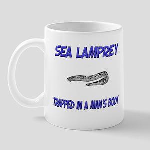 Sea Lamprey Trapped In A Man's Body Mug