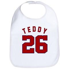 Teddy #26 Bib (4 colors)