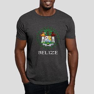Belize Coat of Arms Dark T-Shirt