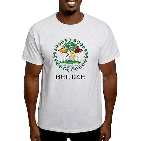 Belize Coat of Arms Light T-Shirt