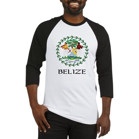 Belize Coat of Arms Baseball Jersey