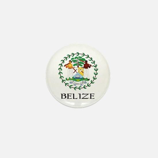 Belize Coat of Arms Mini Button