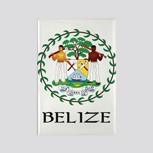 Belize Coat of Arms Rectangle Magnet