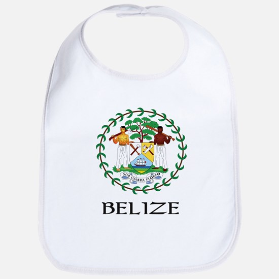 Belize Coat of Arms Bib